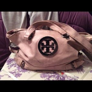 Tory Burch tote baby in pink amd is onof my favor